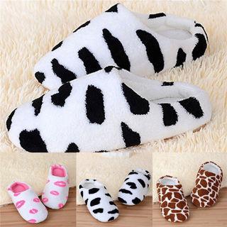 Soft Non-Slip Cotton Slippers