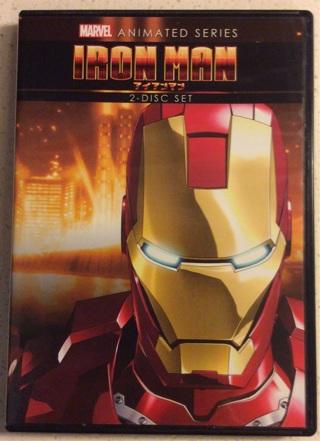 Dvd ironman animated series