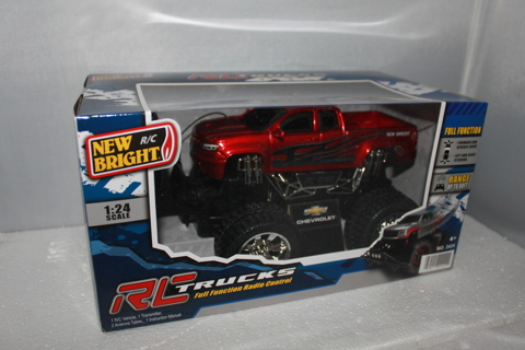 REMOTE CONTROLLED MONSTER LIKE TRUCK