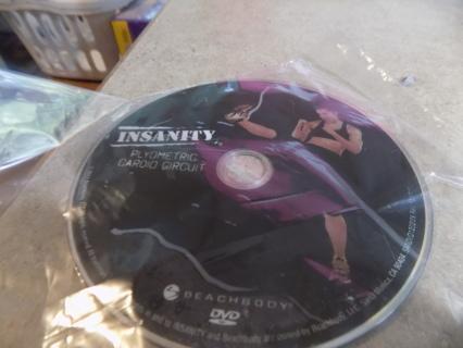 Insanity Plyometric Cardio Circuit DVD