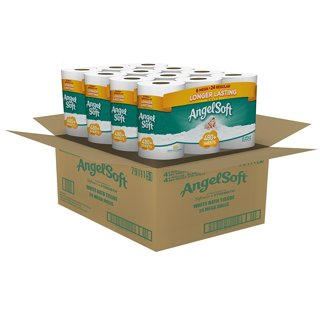 ❤~ Angel Soft Toilet Paper, Bath Tissue, 36 Mega Rolls < = > 144 Regular Rolls~❤