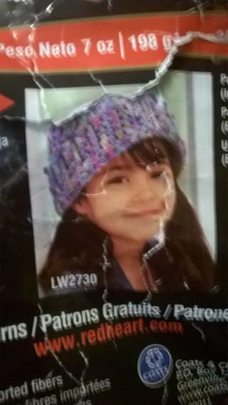 7b3bebbf66c Free  Pattern for child s cuffed cutie crochet hat - Crochet ...