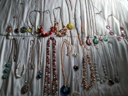 Big Lot of Necklaces