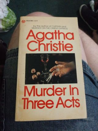 Murder in Three Acts by Agatha Christie (paperback)