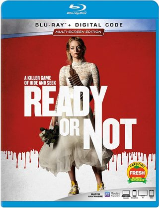 Ready or Not (2019) Movies Anywhere Digital HD Movie Code!!
