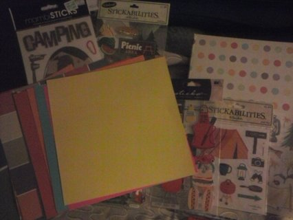 Scrapbooking Big Lot-About Camping