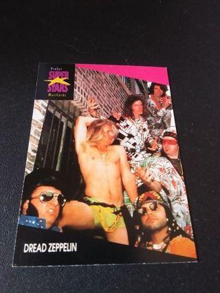 Pro Set Super Star Music Trading Card Dread Zepplin