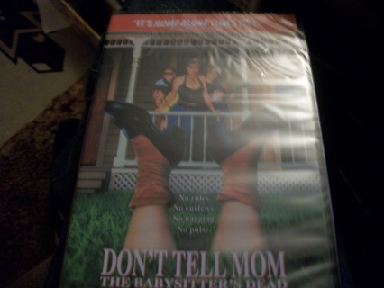 Don't tell Mom the Babysitter's Dead Brand New DVD