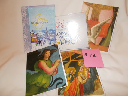 # 12 - 5 New Christmas Cards