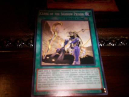 new yu-gi-oh curse of the shadow prison spell card