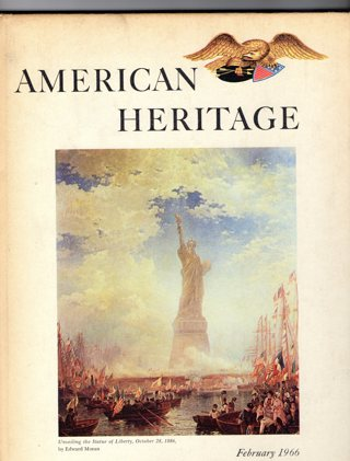 Vintage American Heritage Hard Covered Book: February 1966