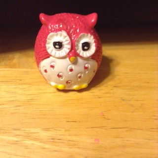 New never used owl lip gloss!!