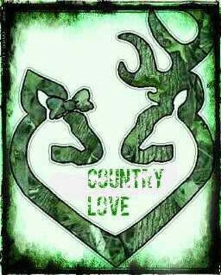Browning Buck Doe Kissing COUNTRY LOVE DIGITAL Wireless Wallpaper
