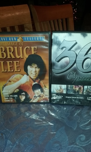 THE IMAGE OF BRUCE LEE & 36TH CHAMBERS