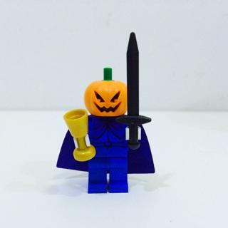 New Headless Horseman Minifigure Building Toy Custom Lego