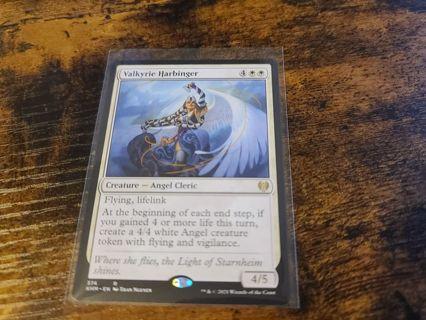 Magic the gathering mtg Valkyrie Harbinger rare card