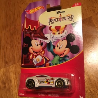 """Hot Wheels - Torque Twister """"Disney Prince Pauper"""" (Mickey Mouse 6/8)"""