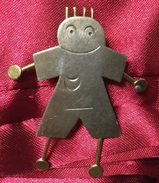 Little Smiling Boy Pin