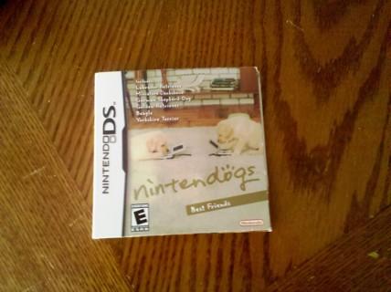 Nintendo DS nintendogs Best Friends