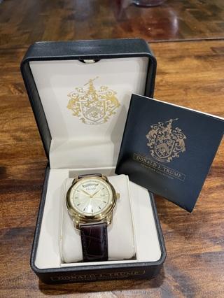 Rare 2005 Donald J Trump Signature Collection Watch