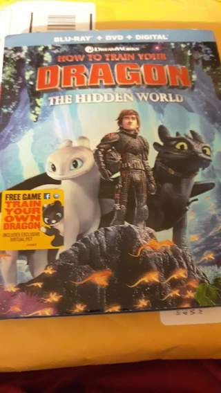 How to Train Your Dragon 3 HD CODE ONLY
