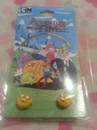 Adventure Time Jake Stud Earrings -Cartoon Network-