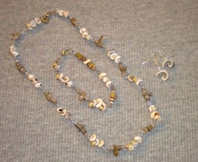 Necklace,bracelet & earring set