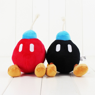 New Super Bros Plush BOB-OMB BOMB Doll Soft Figure Toy
