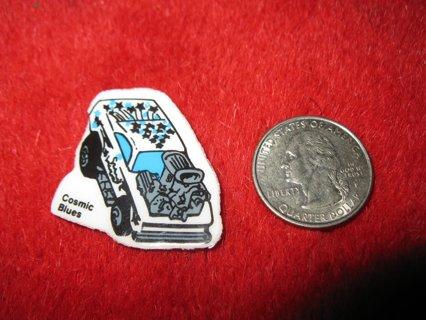 1980's Matchbox Off Road 4x4's Refrigerator Magnet: Cosmic Blues