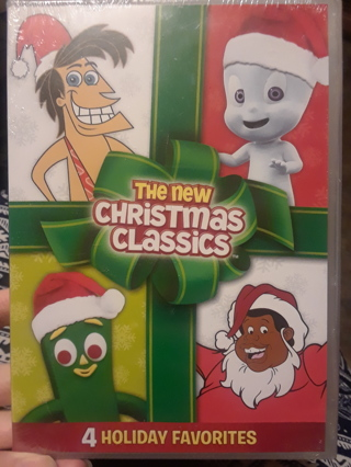 DVD... New Christmas Classics...4 Holiday Favorites. Casper, Fat Albert, Gumby, George of Jungle
