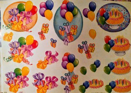 DIY Cutout Embellishments - Birthday