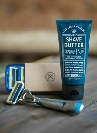 New Dollar Shave Club Box.