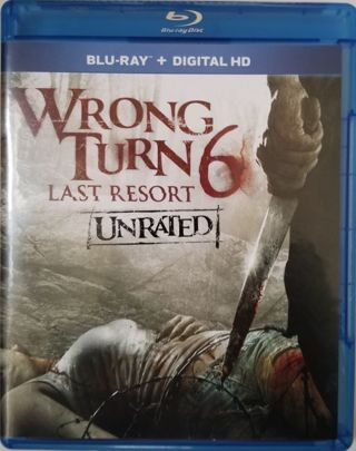 Wrong Turn 6: Last Resort Ultraviolet Digital HD Code BRAND NEW! NEVER USED!