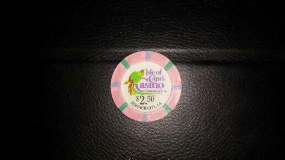 Free: Casino Poker Chip! $2 50 Isle Of Capri, Casino