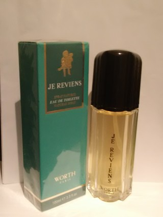 WORTH JE REVIENS NATURAL SPRAY EAU DE TOILETTE 3.3 FL OZ /100 ML FOR WOMEN