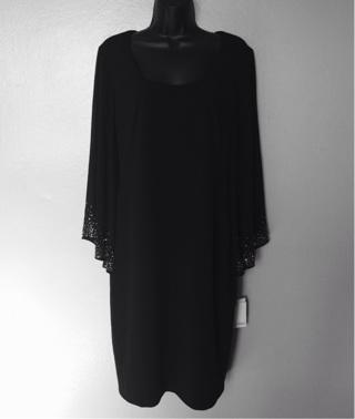 NWT Calvin Klein Bell Sleeve Dress, Size 8