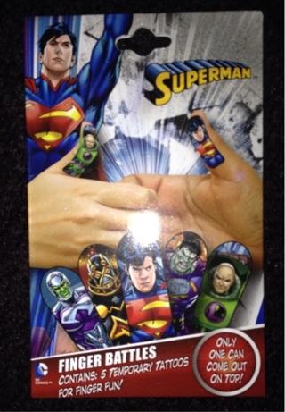 SUPERMAN  FINGER  BATTLERS