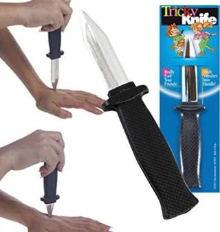 NEW Knife Prop Toy Movie Prop Special Effect Magic Trick Illusion