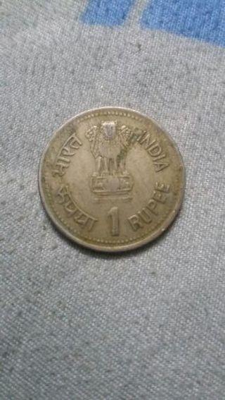 ♡♡♡ 1 Rupee India Coin ♡ ♡ ♡