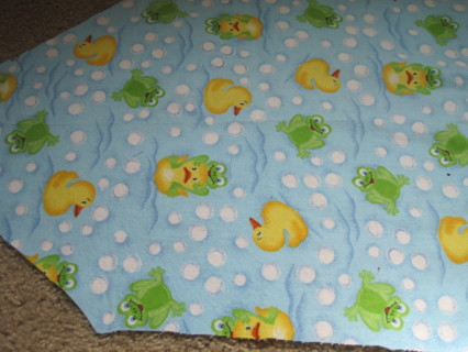 Duck and Frog fabric
