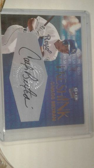 Free Carlos Beltran Autograph Sports Trading Cards