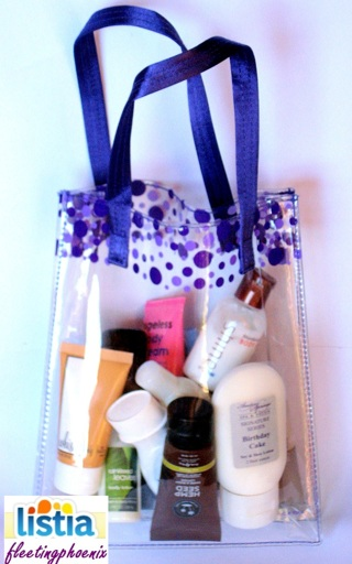 STUFFED Tote BODY LOTION Bliss Whish Gilchrist & Soames BBW Aveeno GREAT GIFTS!