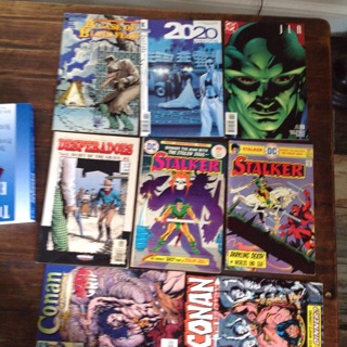 8 Fun Comic books for reading ! Lot O-3 Comic