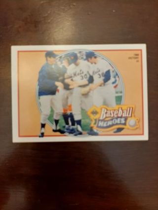 1990 Upper Deck Heroes Nolan Ryan #10