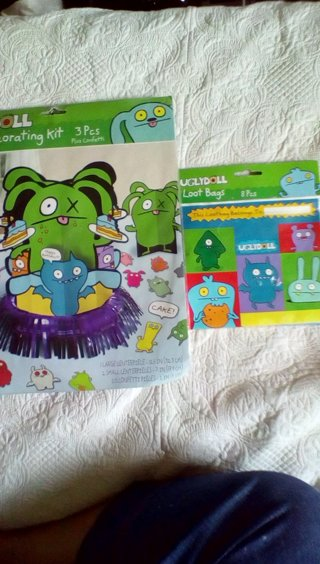 ugly doll decorations