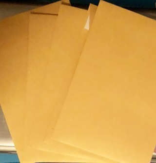 """FOUR 10"""" x 13"""" ENVELOPES - Secure Mailers w/ Strip Closures! Free Ship to Winner!!"""