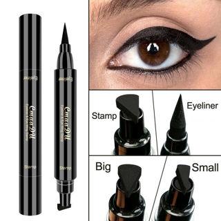 Waterproof Winged Eyeliner Stamp Makeup Cosmetic Eye Liner Pencil Black