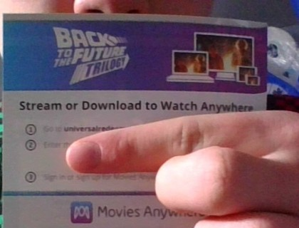 Back To The Future Trilogy digital code (4K)