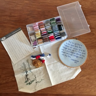 Cross Stitch Embroidery Lot COLORS