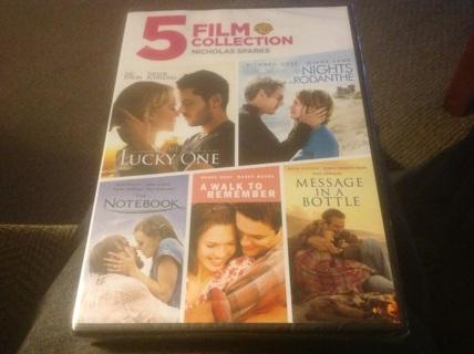 5 FILM COLLECTION NICHOLAS SPARKS
